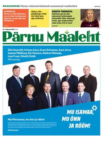 16fa955e91d Pärnu Maaleht (veebruar 2019) by Ekspress Meedia AS - issuu