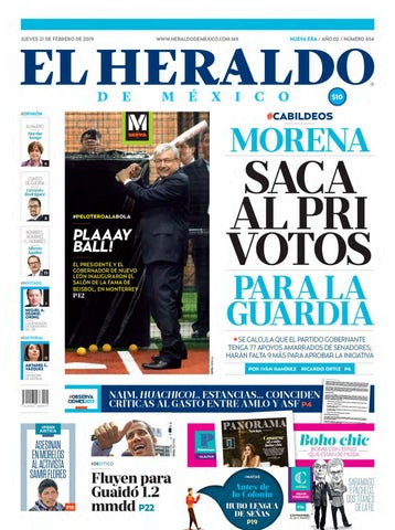 21 de febrero de 2019 by El Heraldo de México - issuu 5cd0d991635