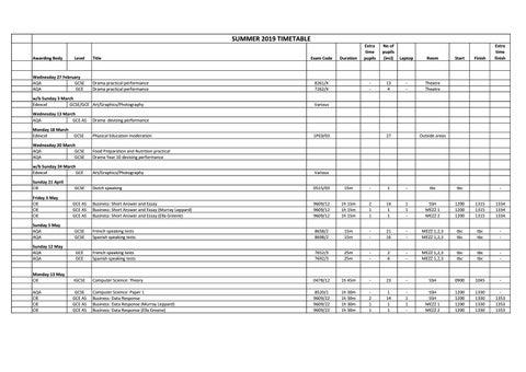Summer 2019 Timetable For Website by BSAK Abu Dhabi - issuu