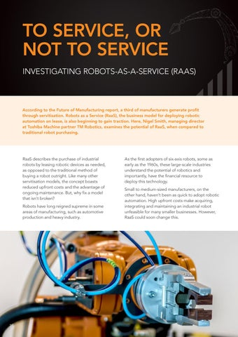Page 24 of To service, or not to service