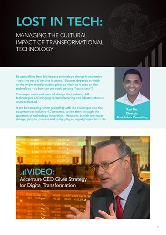 Page 9 of Lost in Tech: Managing the Cultural Impact of Transformational Technology