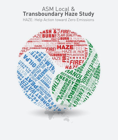 ASM Local & Transboundary Haze Study by Academy of Sciences