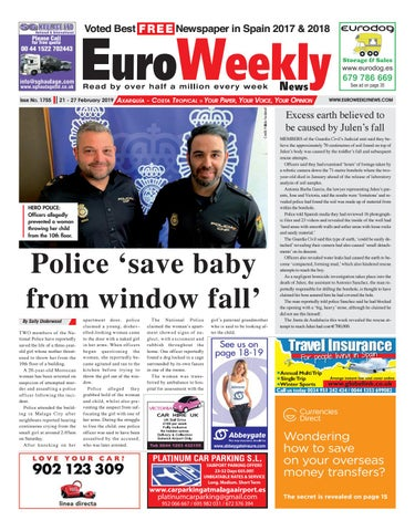 280f0fc3a Euro Weekly News - Axarquia - 21 - 27 Feb 2019 Issue 1755 by Euro ...