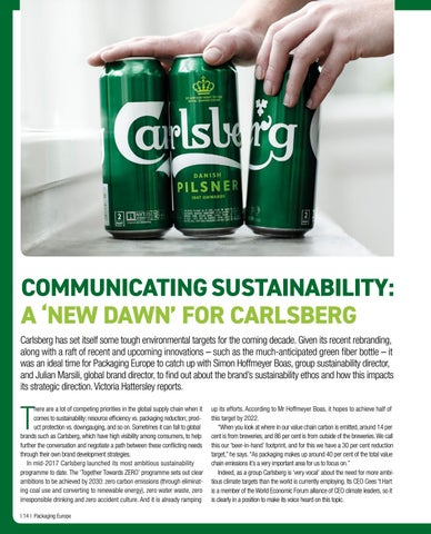Page 16 of Communicating sustainability: A 'new dawn' for Carlsberg