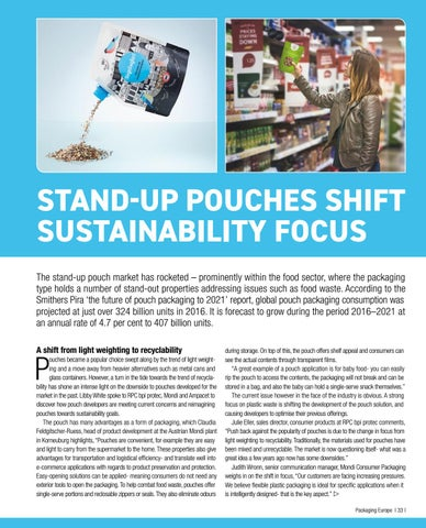 Page 35 of Stand-Up Pouches Shift Sustainability Focus