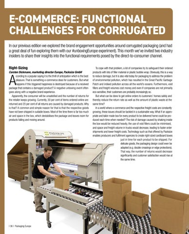Page 38 of E-Commerce: Functional Challenges for Corrugated
