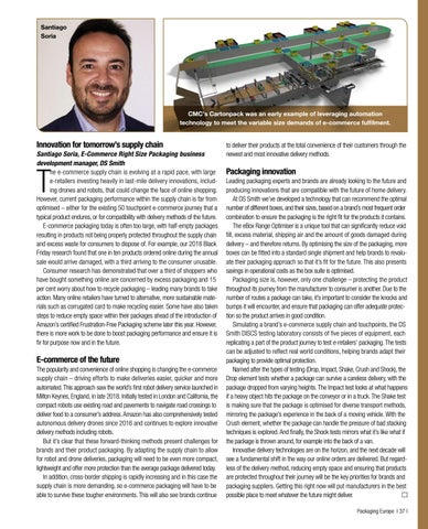 Page 39 of E-Commerce: Functional Challenges for Corrugated