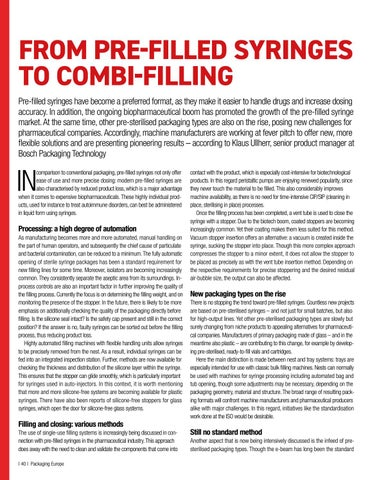 Page 42 of From Pre-Filled Syringes to Combi-Filling