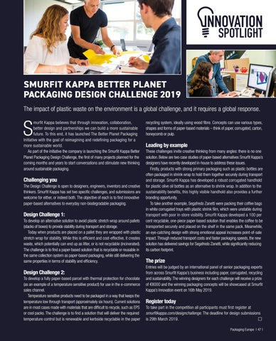 Page 49 of Smurfit Kappa Better Planet Packaging Design Challenge 2019