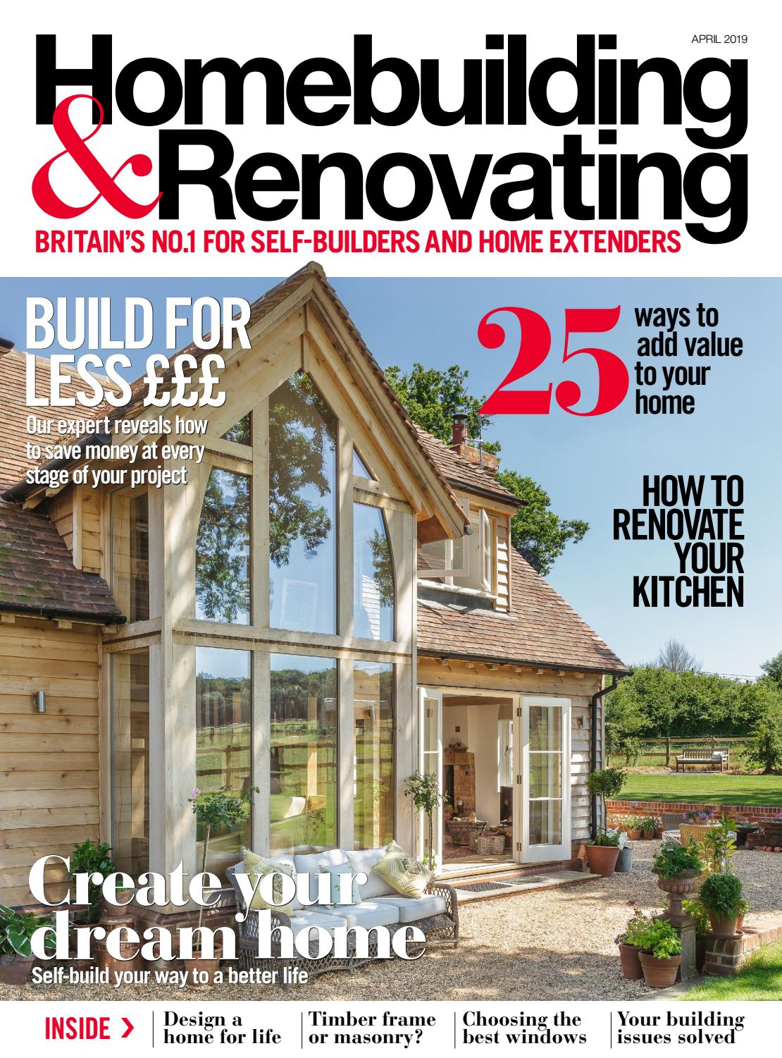Homebuilding Renovating: Homebuilding & Renovating 148 (Sampler) By Future PLC
