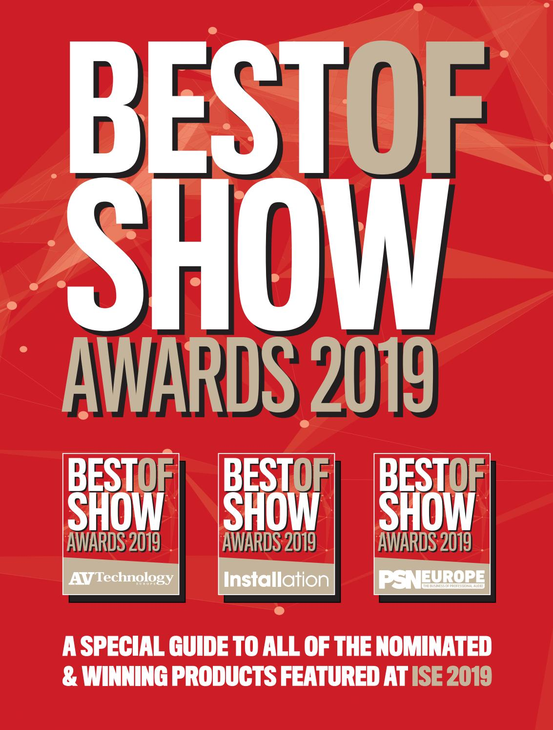 ISE Best of Show Awards 2019 by Future PLC - issuu