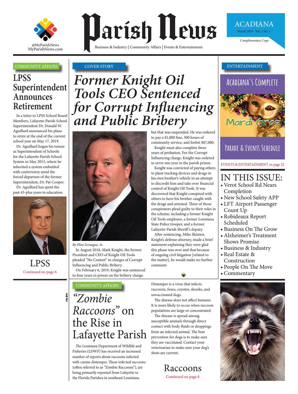 Parish News ~ Vol  2 No  1 ~ February-March 2019 by Parish