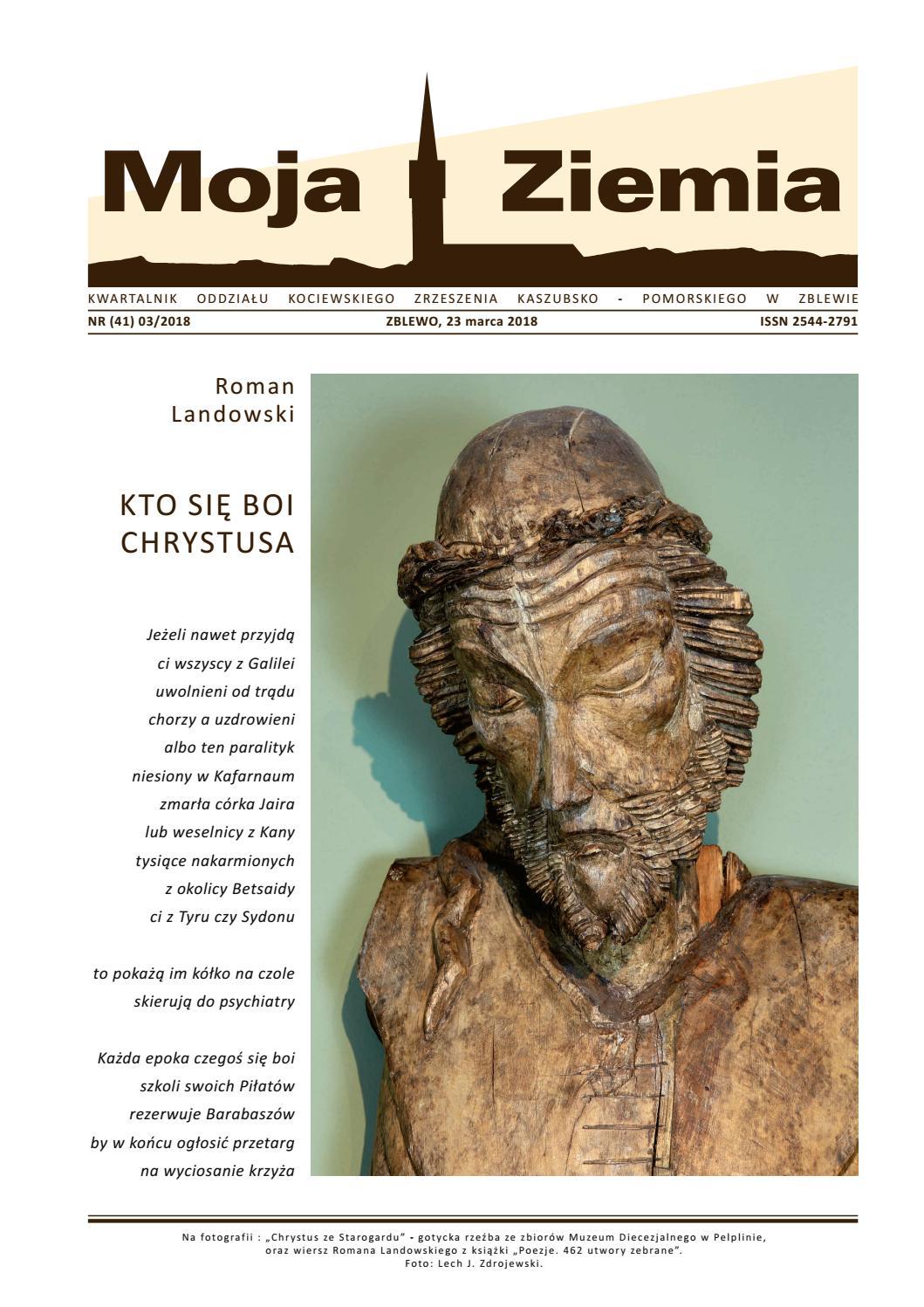 Moja Ziemia Nr41 Marzec 2018 By Fundacja Oko Lice Kultury