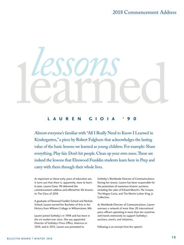 Page 13 of Lessons Learned