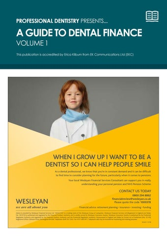 Dental Finance 2019 by Professional Dentistry - issuu