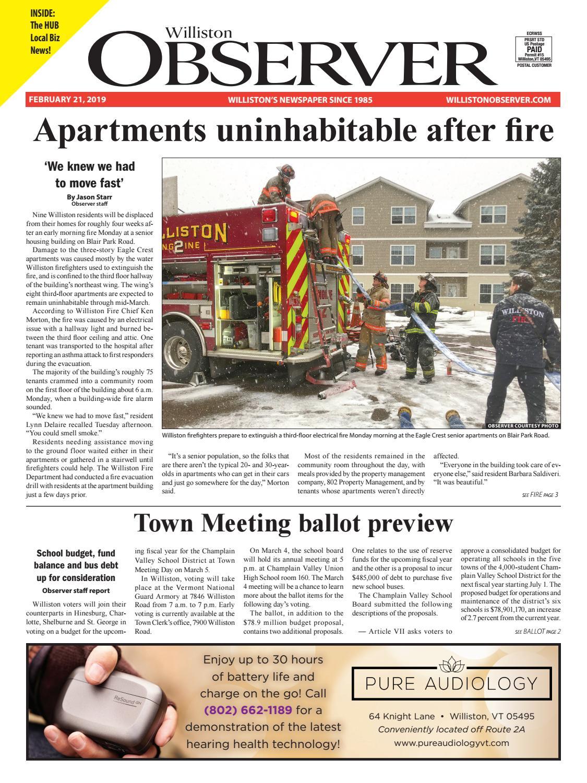 Williston Observer 2-21-19 by Williston Publishing - issuu