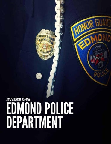 Edmond Police Department - 2017 Annual Report by City of