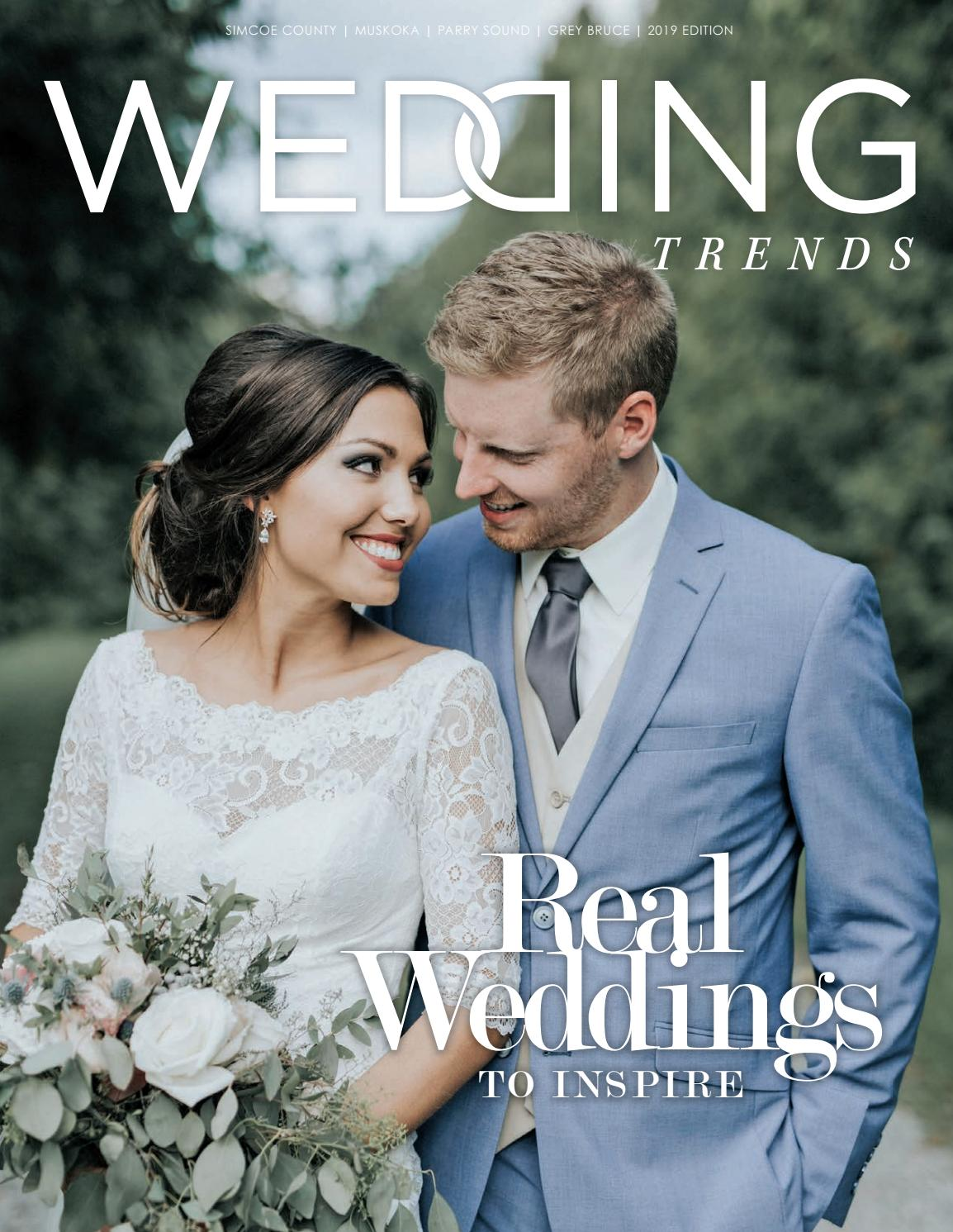 Wedding Trends 2019 By Goodlife Magazine Simcoe County Issuu