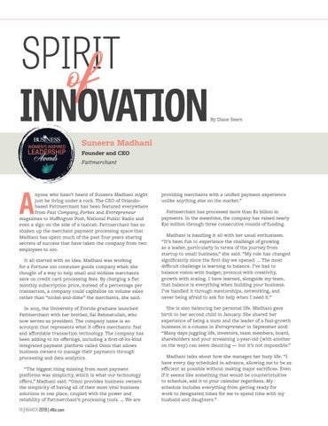 Page 20 of Spirit of Innovation - Helping Small and Mid-Size Businesses
