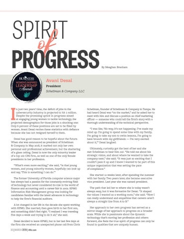 Page 32 of Spirit of Progress - Changing the Status Quo