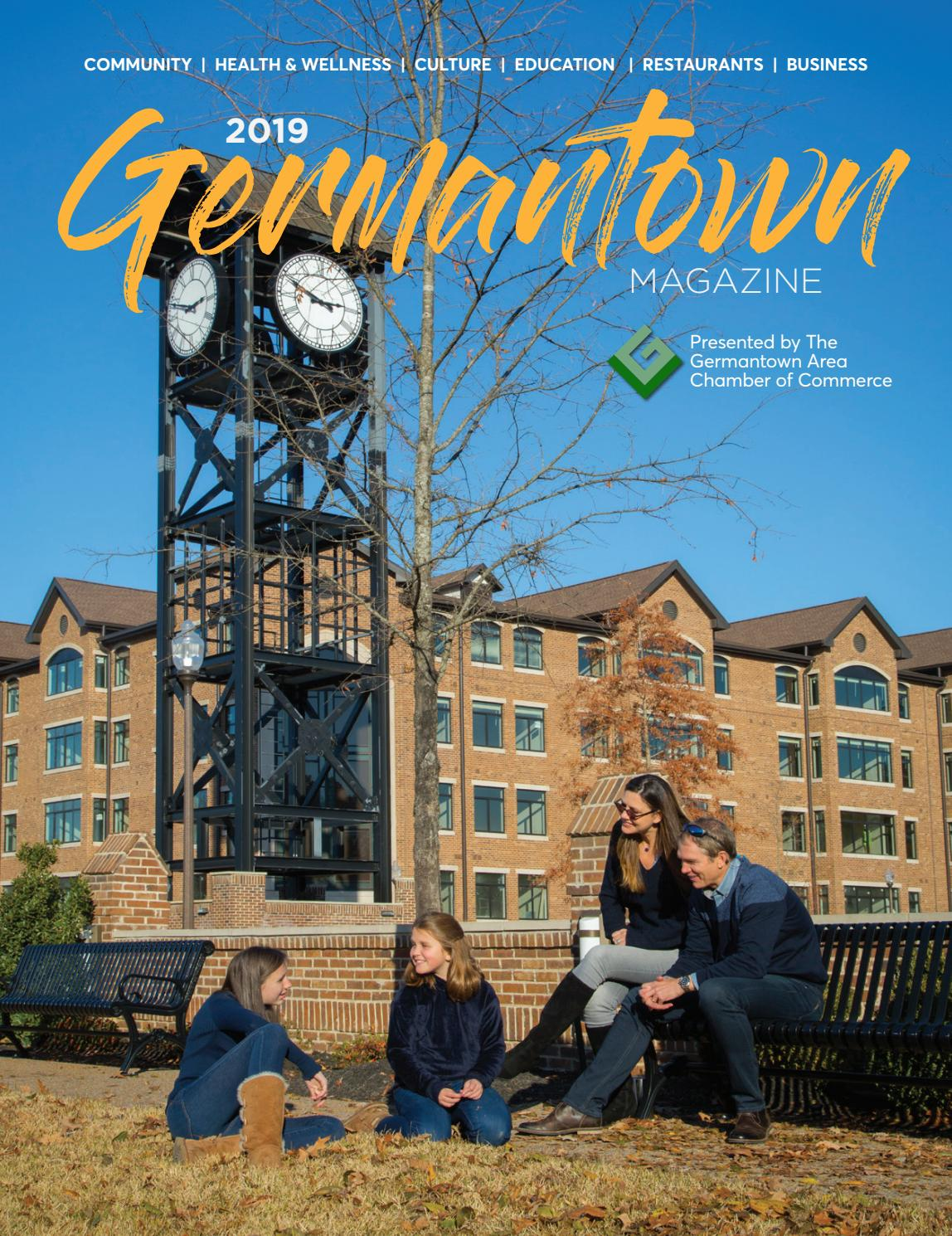 2019 Germantown Area Chamber of Commerce Magazine by SnagMob
