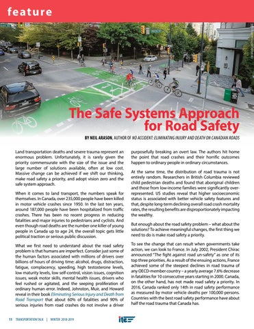 Page 14 of The Safe Systems Approach for Road Safety