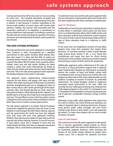Page 15 of The Safe Systems Approach for Road Safety