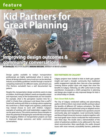 Page 20 of Kid Partners for Great Planning: Improving design outcomes and community conversations