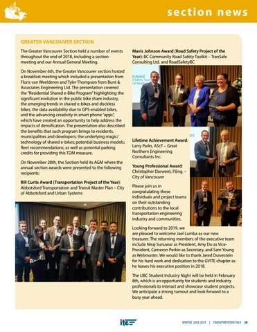 Page 33 of CITE Section News