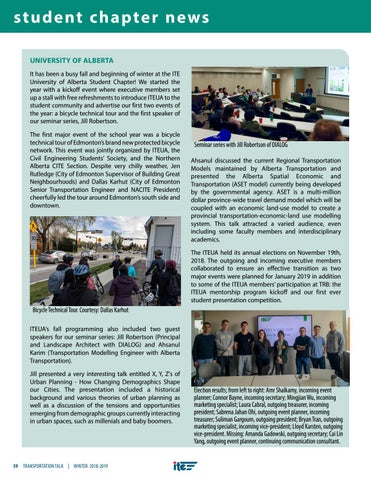 Page 42 of Student Chapter News