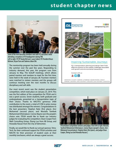 Page 43 of Student Chapter News