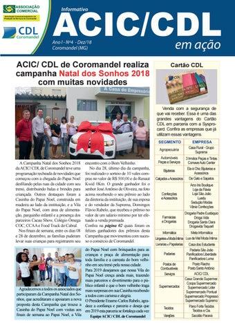 be990cc76 Informativo ACIC CDL EM AÇÃO - 4ª edição