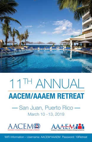 11th Annual AACEM/AAAEM Retreat by Society for Academic