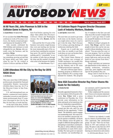 afd62322 March 2019 Midwest Edition by Autobody News - issuu