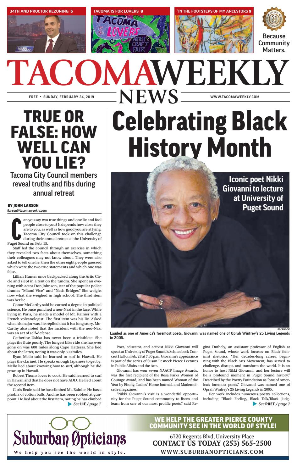 90773675a4 Tacoma Weekly 02.24.19 by Tacoma Weekly News - issuu