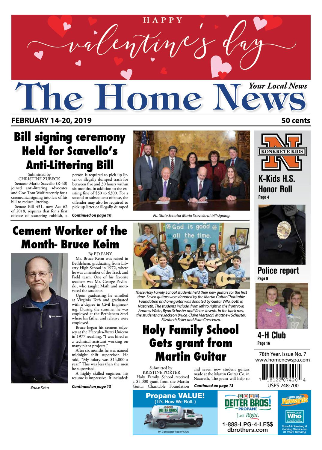 The Home News February 14 by Innovative Designs & Publishing