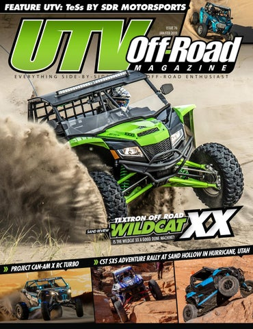 UTV Off-Road Magazine JAN/FEB 2019 Issue 76 by UTV Off-Road