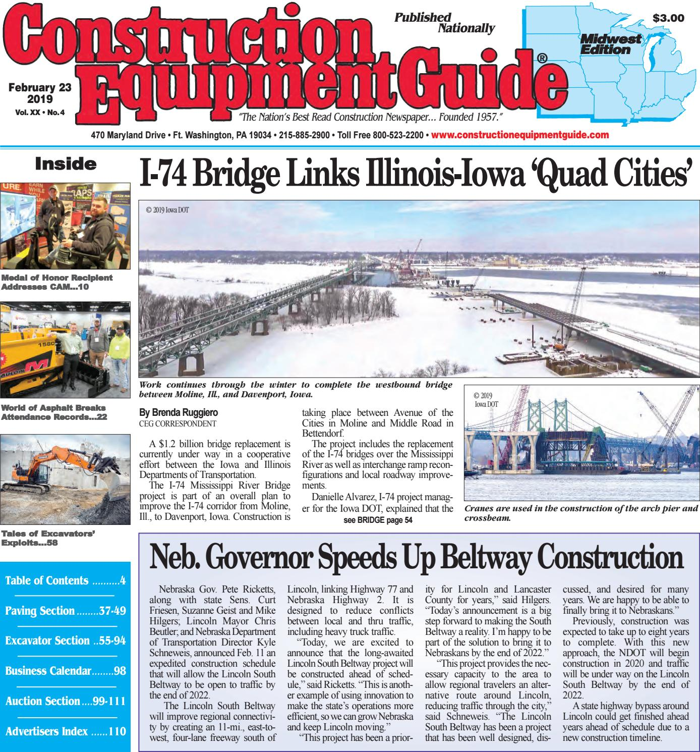 Midwest 4 February 23, 2019 by Construction Equipment Guide - issuu