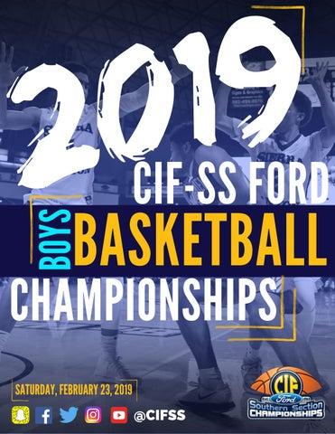 4e70449e2a5c0c 2019 CIF-SS Ford Boys Basketball Championship Program by CIF ...