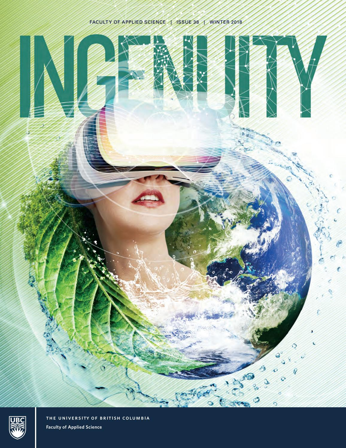 Ingenuity Issue 38 by UBC Applied Science - issuu