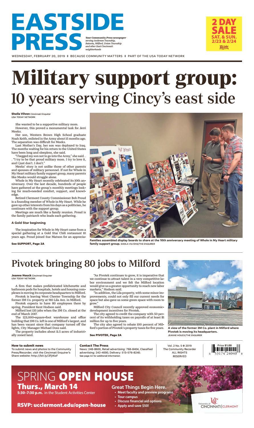Eastside Press 02 20 19 By Enquirer Media Issuu