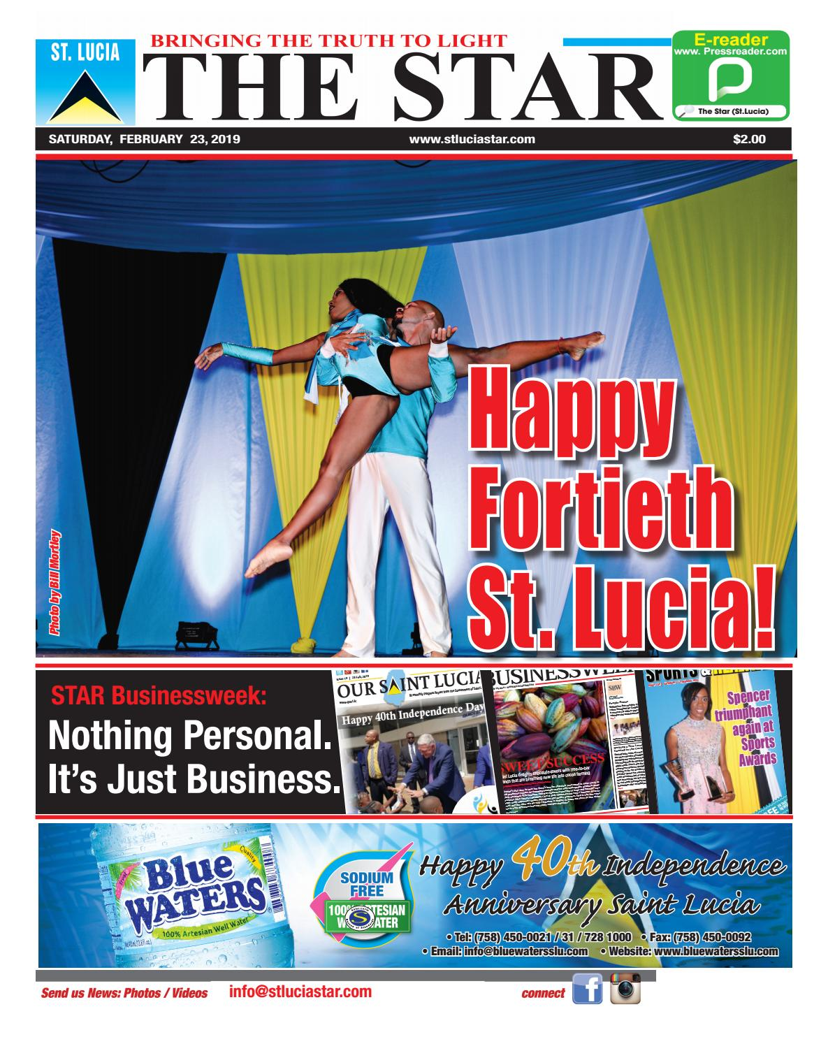913c5d07bba Happy Fortieth St. Lucia! by STAR Publishing - issuu