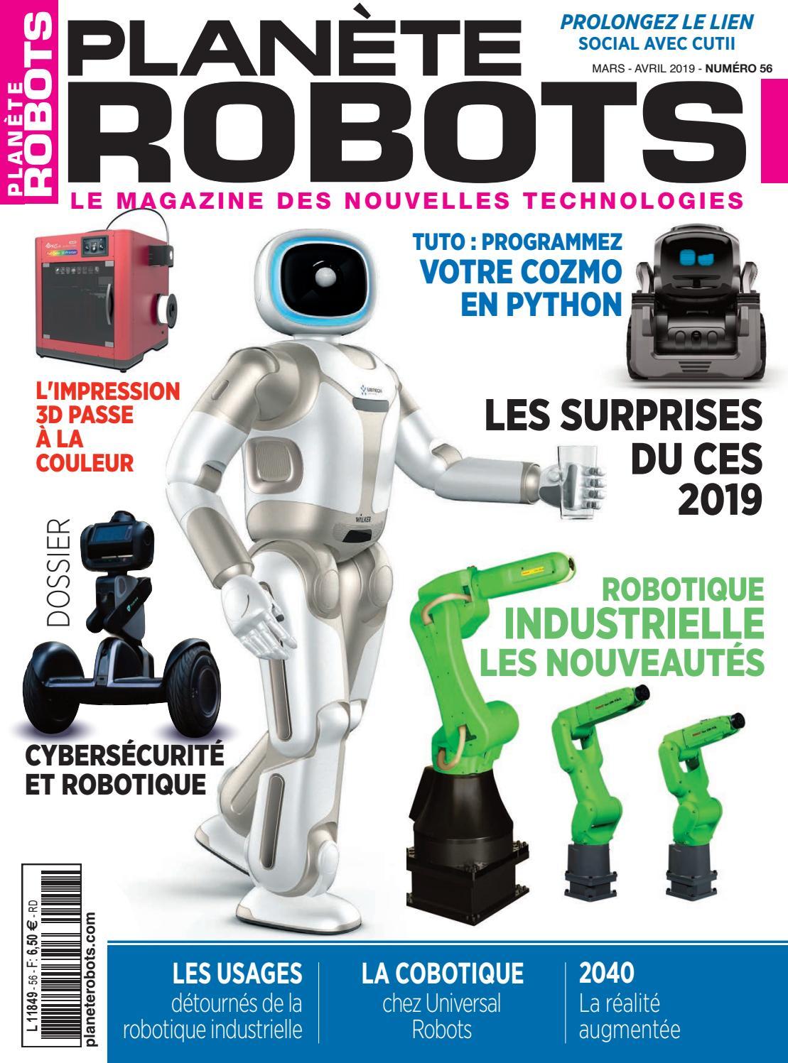 Extrait du magazine Planète Robots N°56 by Planète Robots - issuu