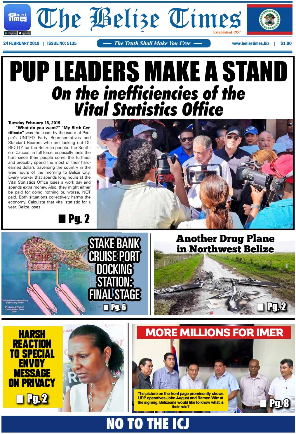 Belize Times February 24, 2019 by Belize Times Press - issuu