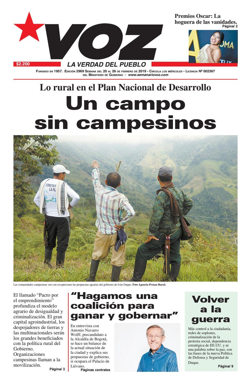 cee71b9425d Semanario Voz by partido comunista colombiano - issuu