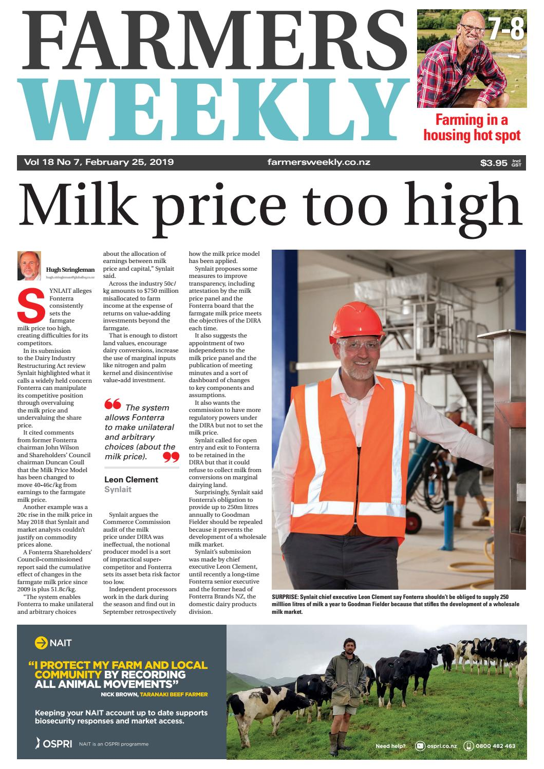 c8db33836408 Farmers Weekly NZ February 25 2019 by Farmers Weekly NZ - issuu
