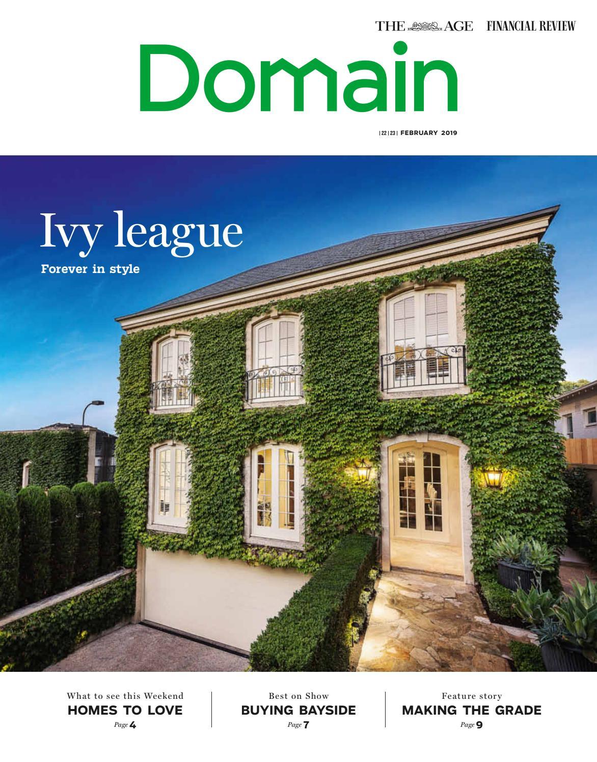 Domain The Age February 22 February 23 2019 By Domain Magazines Issuu