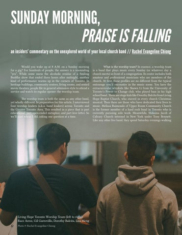Page 22 of Sunday Morning, Praise is Falling—by Rachel Evangeline Chiong