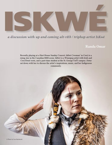 Page 24 of Student Profile: IsKwé—by Randa Omar
