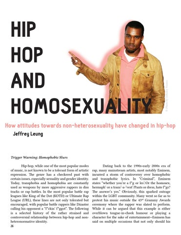 Page 26 of Hip-Hop and Homosexuality—by Jeffrey Leung